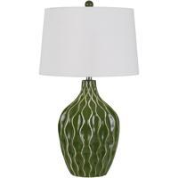 Cal Lighting BO-2814TB Andria 29 inch 150 watt Green Grass Table Lamp Portable Light