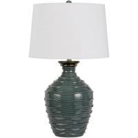 Cal Lighting BO-2816TB Oristano 29 inch 150 watt Teal Table Lamp Portable Light