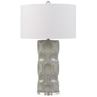 Cal Lighting BO-2817TB Melfi 29 inch 150 watt Gray Table Lamp Portable Light