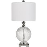 Cal Lighting BO-2819TB-2 Avellino 24 inch 150 watt Brushed Steel Table Lamp Portable Light