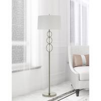 Cal Lighting BO-2834FL Bree 62 inch 150 watt Chrome Floor Lamp Portable Light
