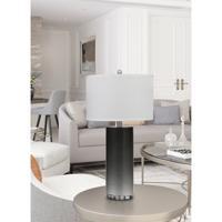 Cal Lighting BO-2851TB-2 Kastoria 27 inch 150 watt Cinereal Table Lamp Portable Light Pair