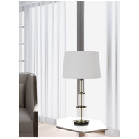 Cal Lighting Glass Metal Table Lamps