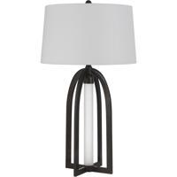 Cal Lighting BO-2868TB Sabadell 32 inch 100 watt Black Table Lamp Portable Light