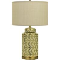 Cal Lighting BO-2885TB-2 Barletta 25 inch 150 watt Antique Gold Table Lamp Portable Light