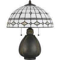 Cal Lighting BO-2942TB Tiffany 20 inch 60 watt Dark Bronze Table Lamp Portable Light