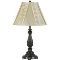 Cal Lighting BO-2950TB Kerry 26 inch 100 watt Dark Bronze Table Lamp Portable Light