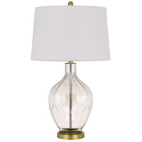 Cal Lighting Clear Glass Table Lamps