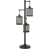 Cal Lighting BO-2991DK Pacific 38 inch 60.00 watt Dark Bronze Desk Lamp Portable Light