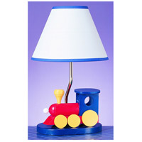 Choo Choo Train 15 inch 60 watt Multi Kids Table Lamp Portable Light