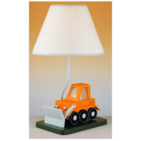 Bulll Dozer 21 inch 60 watt Multi Kids Table Lamp Portable Light, with Night Light