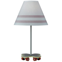Cal Lighting BO-5681 Skateboard 21 inch 60 watt Multi Table Lamp Portable Light