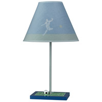 Soccer 21 inch 60 watt Multi Table Lamp Portable Light