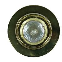 Cal Lighting BO-601-PB Signature MR-16 Plated Brass Recessed Trim