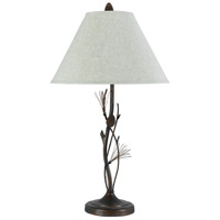 Pine 32 inch 150 watt Willow Table Lamp Portable Light