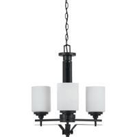 Cal Lighting FX-3505/3 Judson 3 Light 20 inch Texture Black Chandelier Ceiling Light