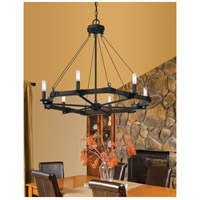 Cal Lighting FX-3533/6 Blacksmith 6 Light 29 inch Blacksmith Iron Chandelier Ceiling Light