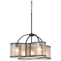 Cal Lighting FX-3555/5 Dixon 5 Light 28 inch Bronze Chandelier Ceiling Light