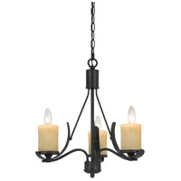 Morelis 3 Light 18 inch Black Smith Chandelier Ceiling Light