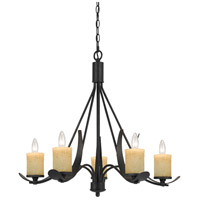Cal Lighting Black Smith Metal Chandeliers