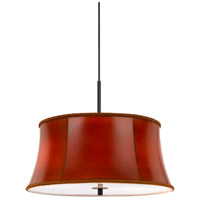 Cal Lighting FX-3569/1P Walton 3 Light 18 inch Dark Bronze Pendant Ceiling Light