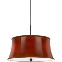 Cal Lighting FX-3569/1P Walton 3 Light 18 inch Dark Bronze Pendant Ceiling Light