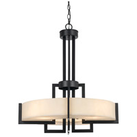 Aberdeen 4 Light 25 inch Dark Bronze Pendant Ceiling Light