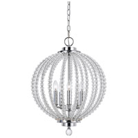 Olivia 5 Light 15 inch Chrome Pendant Ceiling Light