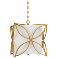 Belton 3 Light 17 inch French Gold Chandelier Ceiling Light