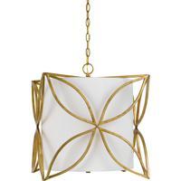 Cal Lighting FX-3602-3 Belton 3 Light 17 inch French Gold Chandelier Ceiling Light