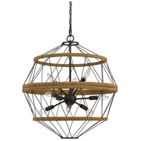 Ozark 9 Light 24 inch Iron Chandelier Ceiling Light