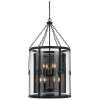 Cal Lighting FX-3617-8 Westchester 8 Light 23 inch Blacksmith Chandelier Ceiling Light