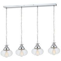 Maywood 4 Light 8 inch Chrome Pendant Ceiling Light
