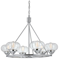Cal Lighting FX-3624-6 Maywood 6 Light 34 inch Chrome Chandelier Ceiling Light