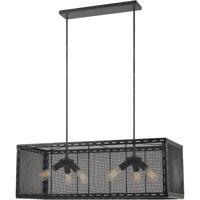 Cal Lighting FX-3625-6 Evanston 6 Light 40 inch Iron Chandelier Ceiling Light
