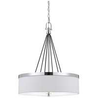 Cal Lighting FX-3642-3 Rimini 3 Light 21 inch Chrome Chandelier Ceiling Light
