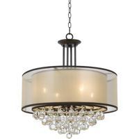 Cal Lighting FX-3644-4 Signature 4 Light 24 inch Bronze Chandelier Ceiling Light