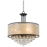 Signature 4 Light 24 inch Bronze Chandelier Ceiling Light