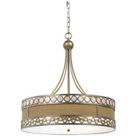 Ashland 5 Light 24 inch Antique Silver Chandelier Ceiling Light