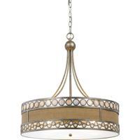 Cal Lighting FX-3645-5 Ashland 5 Light 24 inch Antique Silver Chandelier Ceiling Light