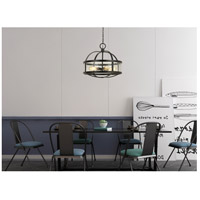 Cal Lighting FX-3666-6 Granada 6 Light 26 inch Iron Chandelier Ceiling Light Circular