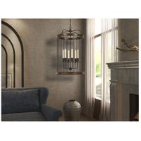 Cal Lighting FX-3700-6 Cantania 6 Light 20 inch Painted Metal Pendant Ceiling Light