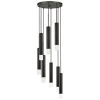 Cal Lighting FX-3723-8P-GM Troy LED 16 inch Gun Metal Pendant Ceiling Light