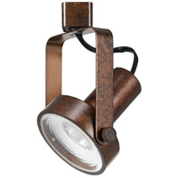 Cal Lighting HT-120-RU Signature 1 Light Rust Track Head Ceiling Light Adjustable