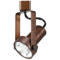 Cal Lighting HT-121-RU Signature 1 Light Rust Track Head Ceiling Light Adjustable