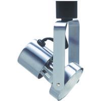Cal Lighting HT-201-BS Signature 1 Light 120V Brushed Steel Track Head Ceiling Light Adjustable