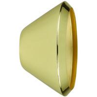Cal Lighting HT-222-SHADE-PB Signature 1 Light Plated Brass Track Head Shade Ceiling Light Adjustable