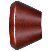 Cal Lighting HT-223-SHADE-RU Signature 1 Light Rust Track Fixture Shade Ceiling Light Adjustable