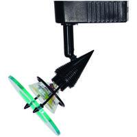 Cal Lighting HT-229-BK Signature 1 Light Black Track Head Ceiling Light Adjustable