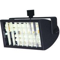 Cal Lighting HT-230-BK Signature 2 Light Black Track Head Ceiling Light Adjustable